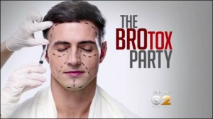 the brotox party - dr lorenc featured on cbs news